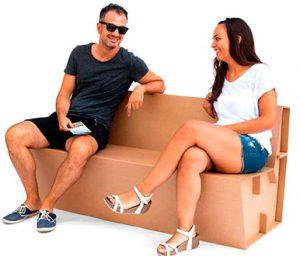 Mobiliario en Cartón - CARTÓN S.A.