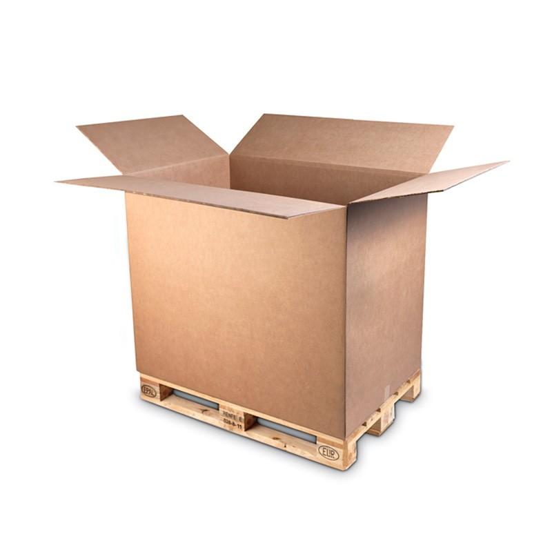 Caja para Contenedor en medida de Palet | Cajas para Exportación - Cartón S.A.