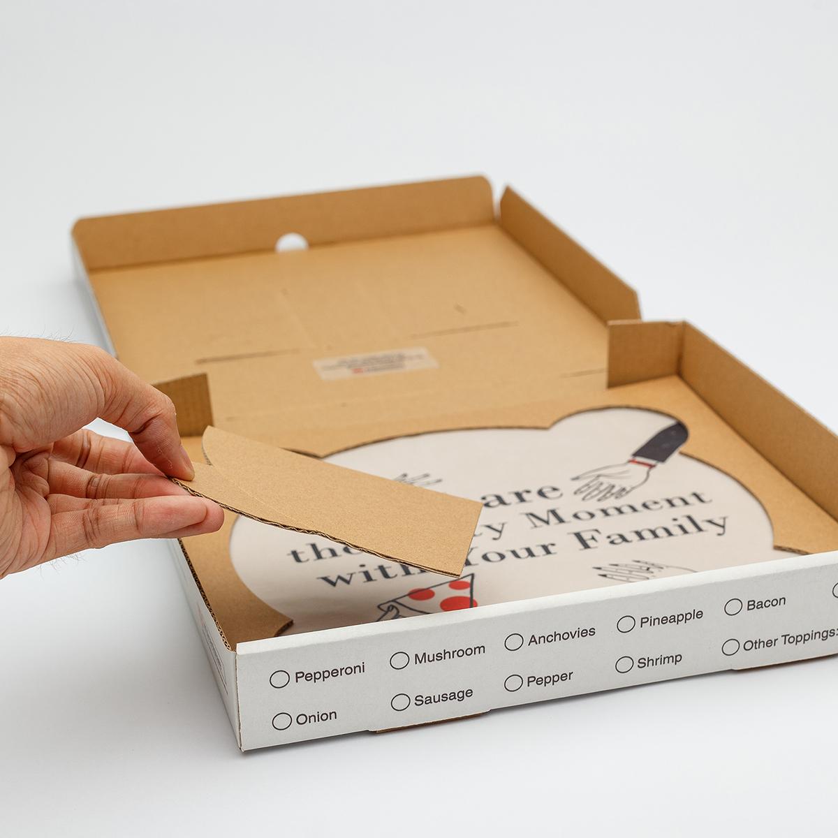 Caja para Pizza por porción | Cajas para Pizza - Cartón S.A.