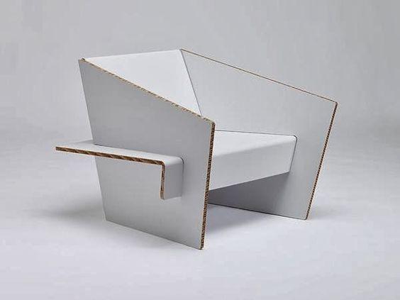 Mobiliario en Cartón - Innovación